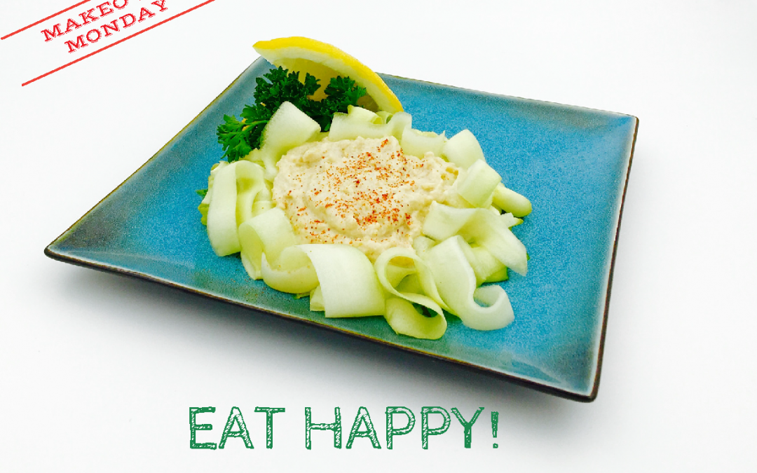Eat Happy Recipe: Makeover Monday Fettuccine Alfredo
